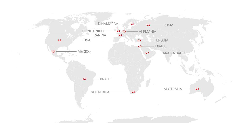 Mapa MRC